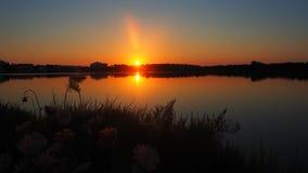 Det fantastiska landskapet av det h?rligt saltar l?genheter under solnedg?ngen p? Colonia de Sant Jordi, Ses saltdam, Mallorca, S fotografering för bildbyråer