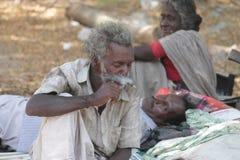 Det fattiga folket arkivbild