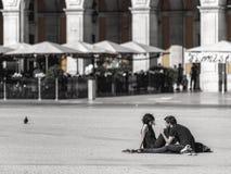 Det finns inte något bättre ställe som erfar denna romans än Lissabon! Royaltyfri Fotografi