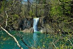Det finns vattenfallet Arkivfoton