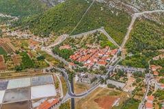 Ston Kroatien Royaltyfri Fotografi