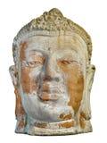 det forntida huvudet fördärvar slitage stenväder Royaltyfri Fotografi