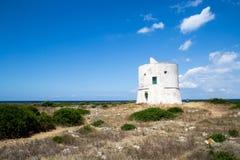 Det forntida kust- tornet sighteen Arkivbild