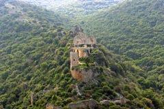 det forntida slottet israel fördärvar Royaltyfri Fotografi