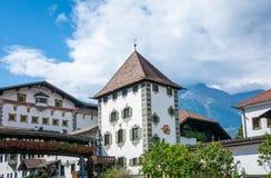 Det Forst bryggeriet som grundas i 1857, är bekant som ett av de största bryggerina i helheten av Italien och lokaliseras i skoge arkivbild