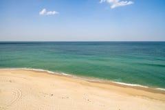 Det fridsamma vattnet av Gangneung Arkivfoto