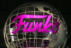 Det Funko jordklotet Royaltyfria Bilder