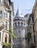 Det Galata tornet Fotografering för Bildbyråer