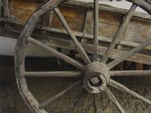 Det gamla århundradet för vagn XIII rullar in museet av kolonial konst av Caracas Quinta Anasco Venezuela arkivfoto