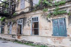 Det gamla eget huset, Thailand arkivfoton