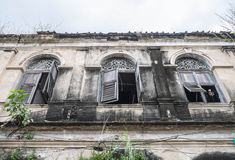Det gamla eget huset, Thailand arkivbild
