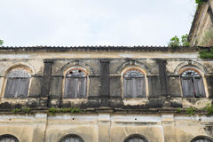 Det gamla eget huset, Thailand royaltyfri fotografi
