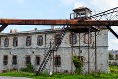 Det gamla fängelset Arkivbild
