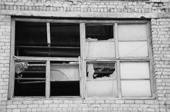 Det gamla fönstret Royaltyfri Bild