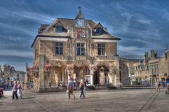 Det gamla havreutbytet, Peterborough Arkivfoto