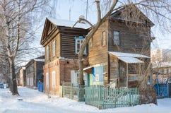 Det gamla historiska huset Royaltyfri Foto