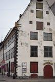 Det gamla lagret i den gamla Rigaen Arkivfoton