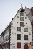 Det gamla lagret i den gamla Rigaen Fotografering för Bildbyråer