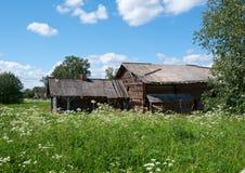 Det gamla lantbrukarhemmet Fotografering för Bildbyråer