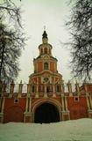 Det gamla porttornet Royaltyfri Fotografi
