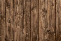 Det gamla träbruna brädet - inget och tömmer Royaltyfria Foton