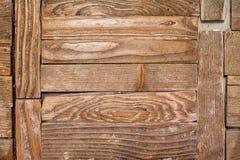 Det gamla trägolvet Arkivfoto