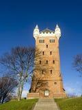 Det gamla vattentornet, Esbjerg, Danmark Fotografering för Bildbyråer