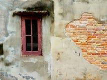 Det gammala fönstret Arkivbild