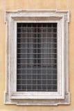 Det gammala fönstret specificerar Arkivfoton