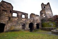 det gammala slottet fördärvar Royaltyfri Bild