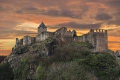 det gammala slottet fördärvar Royaltyfri Foto