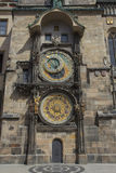 Det gammala stadshuset i Prague Arkivbilder