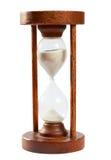 Den gammala sanden tar tid på, timglaset Arkivbilder