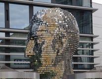 Det gigantiska mekaniska huvudet Royaltyfria Bilder