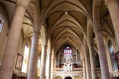 det gotiska exemplet för 1613 för arkitekturdomkyrka för prydnadar också för kyrka för grundpelare element för dame har emellerti arkivbild