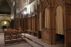 det gotiska exemplet för 1613 för arkitekturdomkyrka för prydnadar också för kyrka för grundpelare element för dame har emellerti royaltyfria bilder