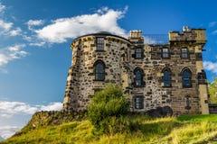 Det gotiska huset Edinburgh Arkivbilder