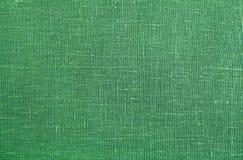 Det gröna linnet texturerar bakgrund Arkivfoton