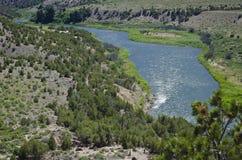 Det Green River forsområdet Arkivfoto