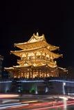 Det Guilin tornet lokaliseras i i stadens centrum Guilin Kina arkivbilder