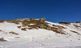 Det härliga berget i Schweiz Arkivfoton