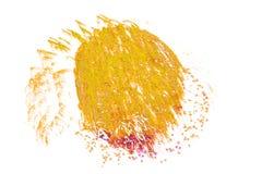 Det härliga färgrika fyrverkerit isolerade skärm för berömslump Arkivbilder