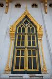Det härliga fönstret av templet Royaltyfri Fotografi