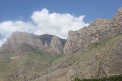 Det härliga landskapet av de Kaukasus bergen Arkivbild