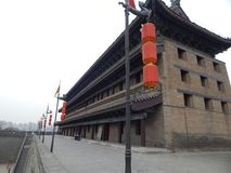 Det härliga landskapet av den forntida staden av XI ' royaltyfria foton