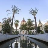 Det härliga Pasadena stadshuset nära Los Angeles, Kalifornien Royaltyfri Bild
