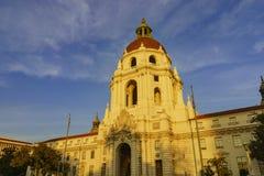 Det härliga Pasadena stadshuset nära Los Angeles, Kalifornien Royaltyfri Fotografi