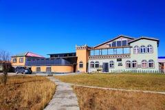 Det höstliga landskapet av den Qinghai - Tibet platån Royaltyfri Fotografi
