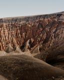 Det h?rliga skottet av Grand Canyon vaggar royaltyfria bilder