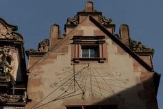 Det Heidelberg slottet är ett berömdt fördärvar i Tyskland och landmark av Heidelberg arkivbilder
